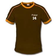 t-shirt poker personnalisable